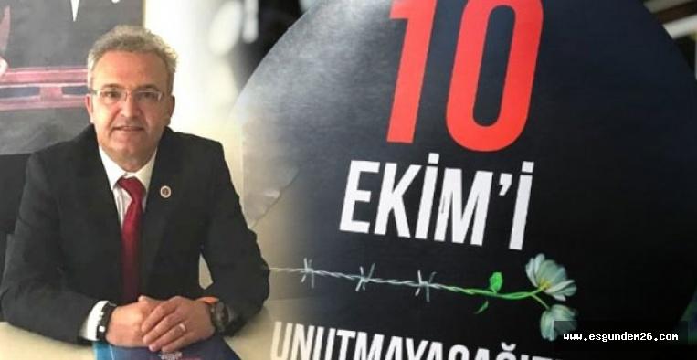 10 EKİM KATLİAMI'NI UNUTMAMAK ŞİMDİ DAHA DA ÖNEMLİ!