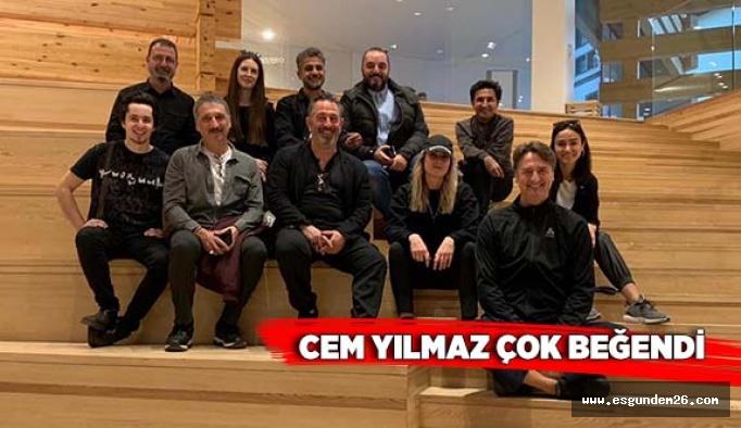 CEM YILMAZ'DAN OMM'YE ÖVGÜ