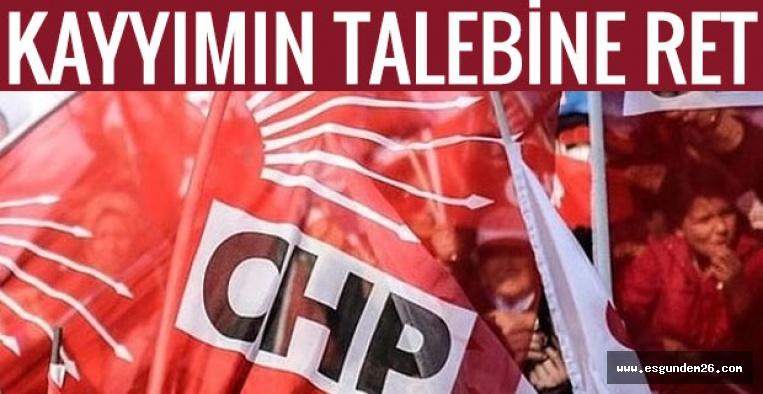 CHP'DE FLAŞ GELİŞME