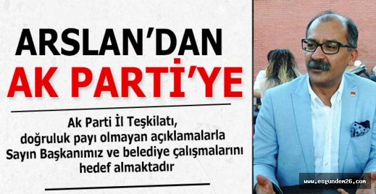 CHP'Lİ MECLİS ÜYELERİ AK PARTİ'YE YÜKLENDİ