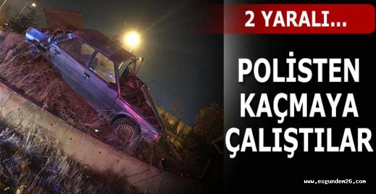 Eskişehir'de otomobil devrildi: 2 yaralı