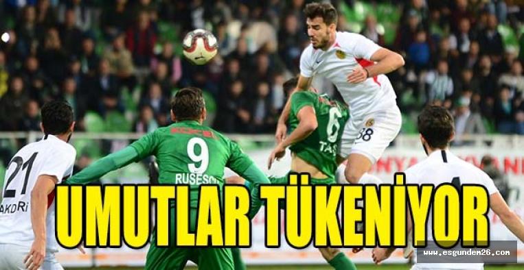 Giresunpor:3 Eskişehirspor: 1