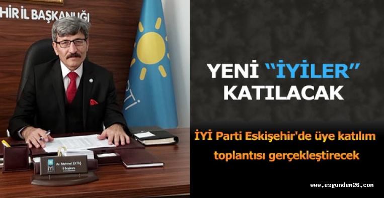 """İYİ PARTİ """"HOŞGELDİNİZ"""" DİYECEK"""