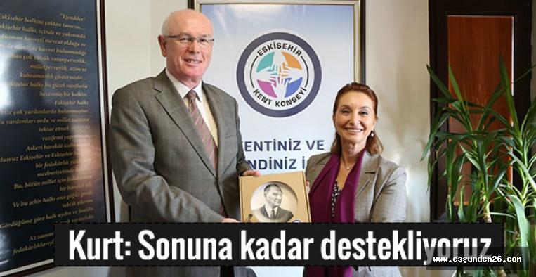 KAZIM KURT'TAN NURAY AKÇASOY'A ZİYARET