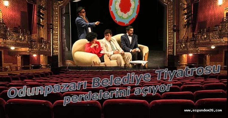 Odunpazarı Belediye Tiyatrosu perdelerini açıyor