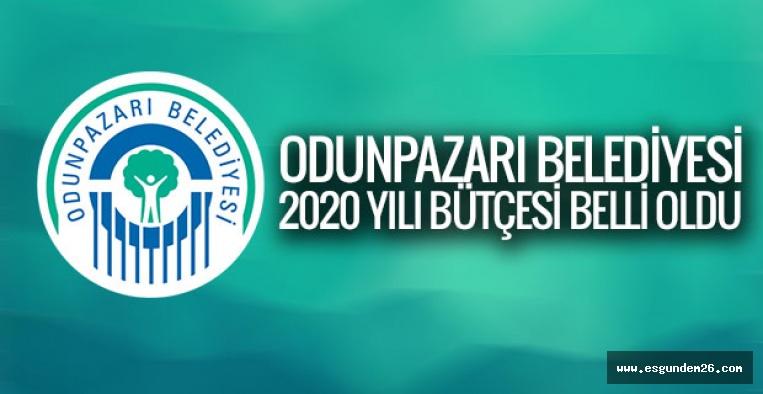 ODUNPAZARI BELEDİYESİ 2020 YILI BÜTÇESİ BELLİ OLDU