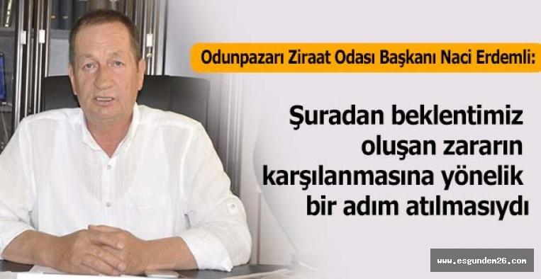 """""""3. TARIM ŞURASI HAYAL KIRIKLIĞI YARATTI"""""""