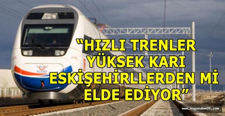 """ÇAKIRÖZER: """"ESKİŞEHİRLİLER NEDEN 30 TL FAZLA ÖDÜYOR"""""""