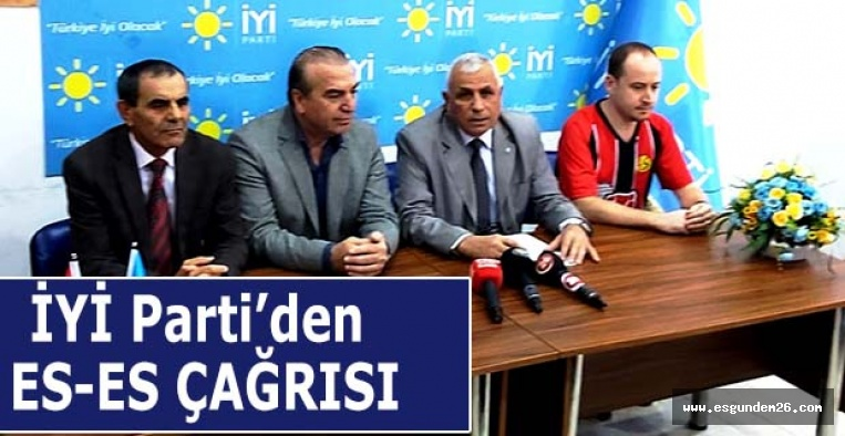 İYİ Parti Eskişehirspor için çağrı yaptı