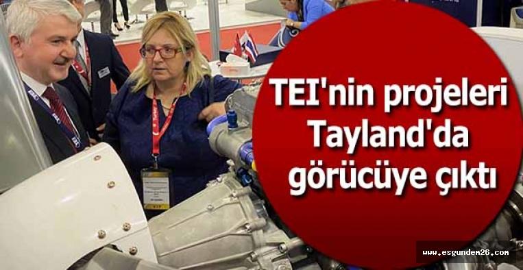 TEI'nin özgün motor projeleri Tayland'daki fuarda görücüye çıktı