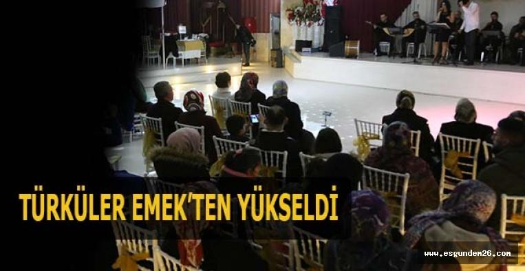 EMEK MAHALLESİ BU KONSERDE BULUŞTU