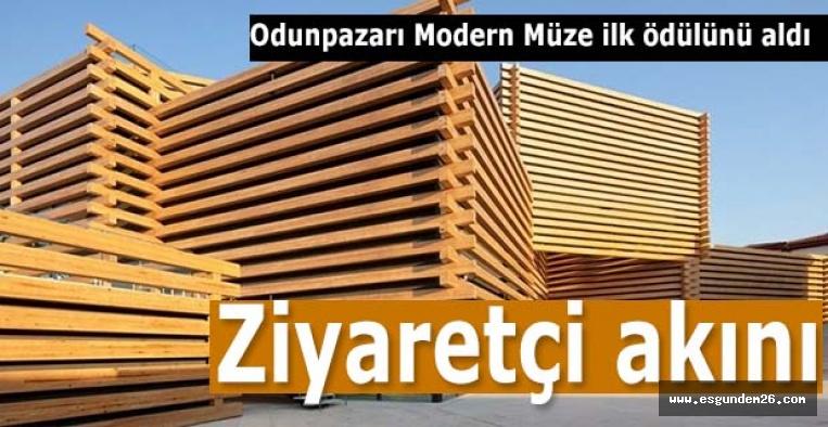 """Eskişehir'in """"ödüllü"""" modern müzesi ziyaretçi akınına uğruyor"""