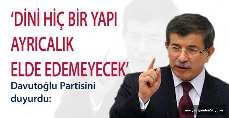 GELECEK PARTİSİ TANITIMI YAPILDI