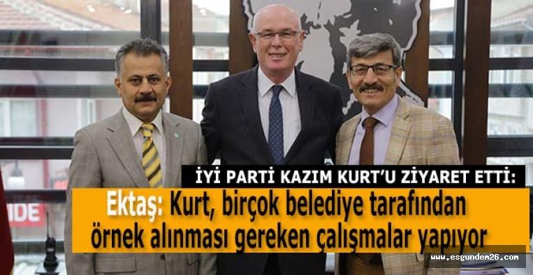 İYİ PARTİ KAZIM KURT'U ZİYARET ETTİ