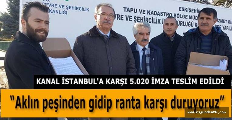CHP O İMZALARI TESLİM ETTİ