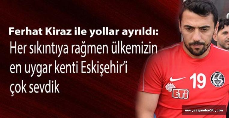 Ferhat Kiraz: Her sıkıntıya rağmen ülkemizin en uygar kenti Eskişehir'i çok sevdik