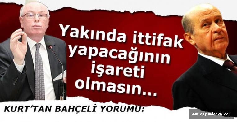 KURT'TAN DEVLET BAHÇELİ'YE GÖNDERME