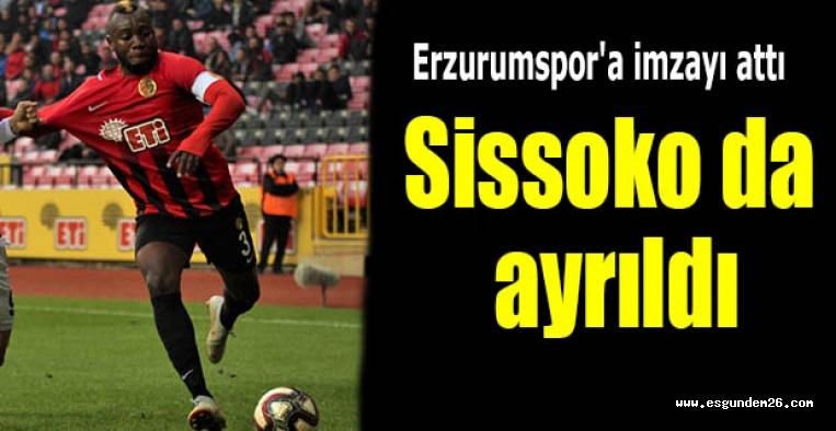 Sissoko Eskişehirspor'a veda etti