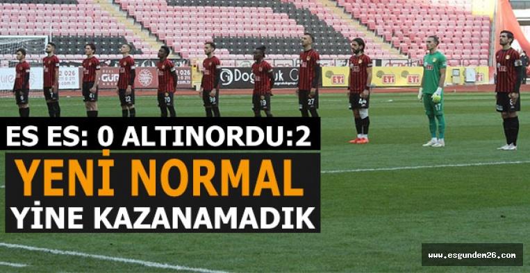 Eskişehirspor bir haftayı da pas geçti