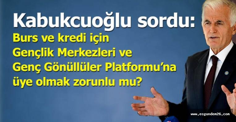 """İYİ Partili Kabukcuoğlu: Bu sübjektif kriterle amaçlanan nedir?"""""""