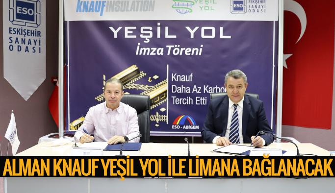 KNAUF 'YEŞİL YOL'A İMZA ATTI