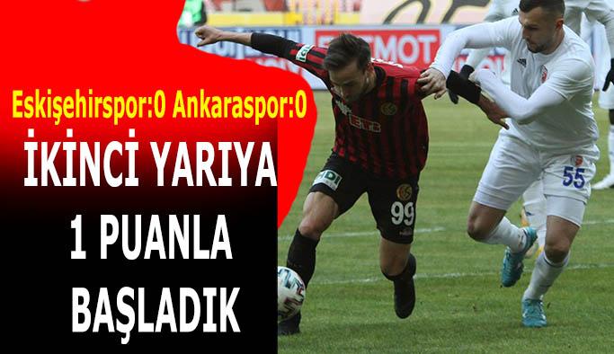 Eskişehirspor:0 Ankaraspor:0