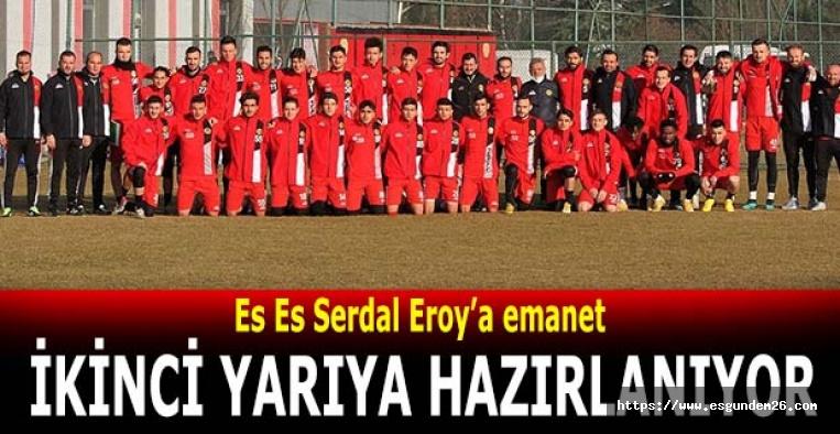 Eskişehirspor ikinci yarıya hazırlanıyor