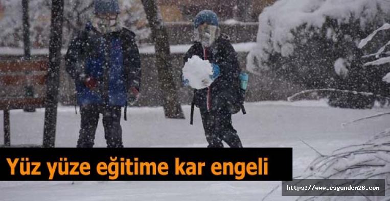 Eskişehir'de okullara 1 gün ara
