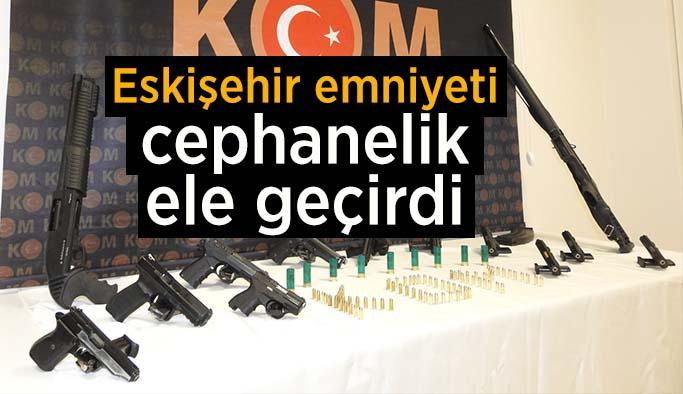 Eskişehir'de silah kaçakçılığı operasyonu