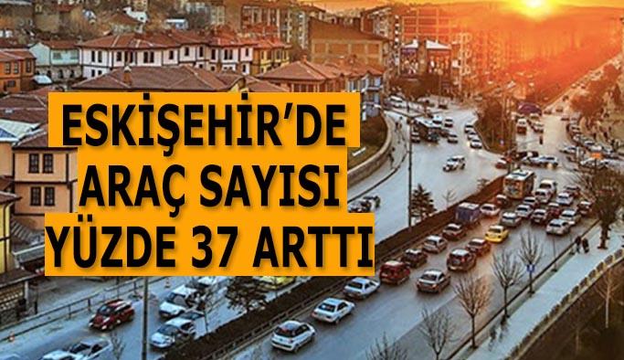 Eskişehir'de trafiğe kayıtlı araç sayısı 298 bin 875 oldu
