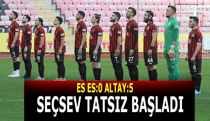 Eskişehirspor farklı mağlup oldu