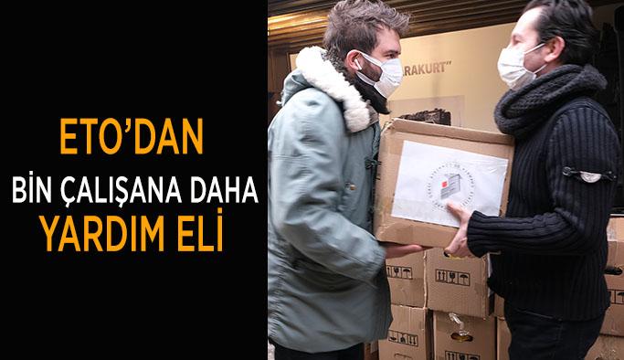 ETO'DAN  1000 ÇALIŞANA DAHA  YARDIM ELİ