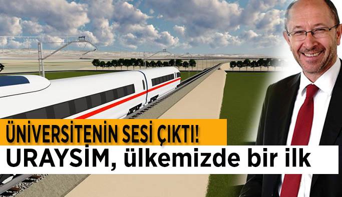 Rektör Erdal: Türkiye raylı sistemler alanında dünyanın sayılı merkezlerinden biri olacak