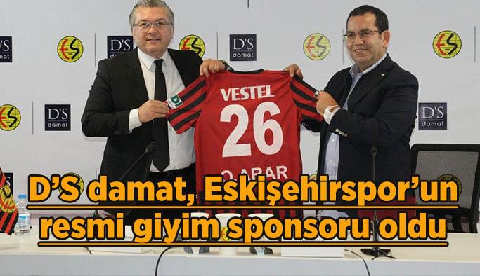 D'S damat, Eskişehirspor'un resmi giyim sponsoru oldu