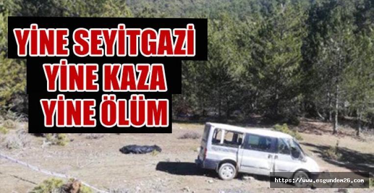 Eskişehir'de trafik kazası: 2 kişi hayatını kaybetti