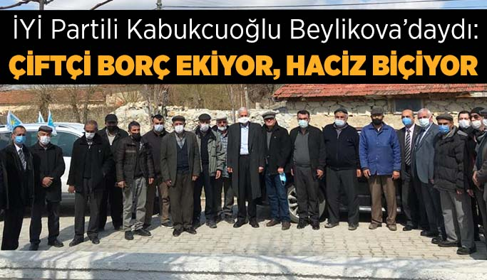 Kabukcuoğlu: İYİ Parti'nin tek amacı vardır, o da iktidar olmaktır