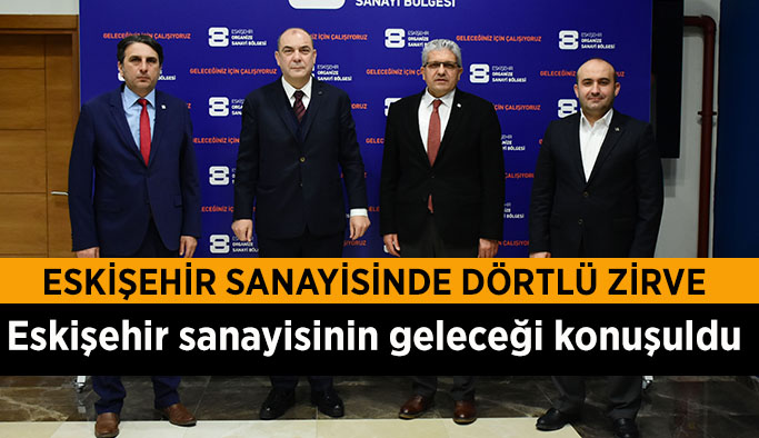 KESİKBAŞ VE ALBAYRAK EOSB'Yİ ZİYARET ETTİ