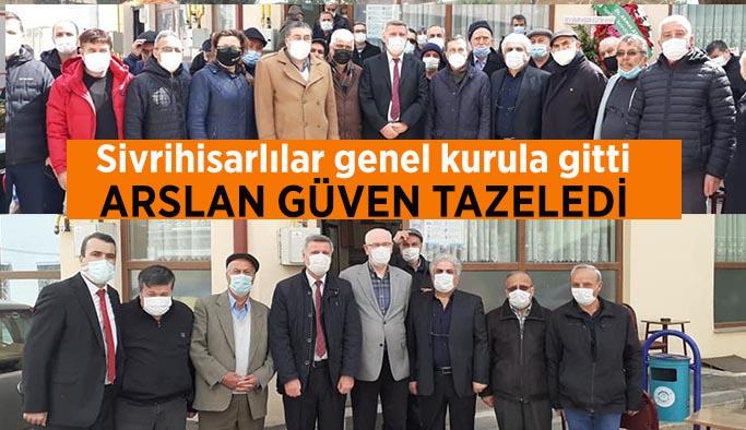 Sivrihisarlılarda başkan değişmedi: İsmail Arslan
