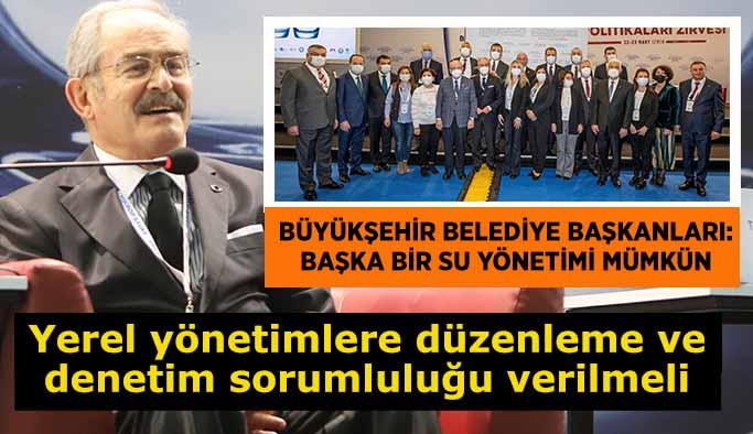 Su politikaları İzmir'in ev sahipliğinde konuşuldu