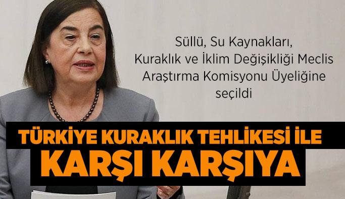 Türkiye kuraklık tehlikesi ile karşı karşıya