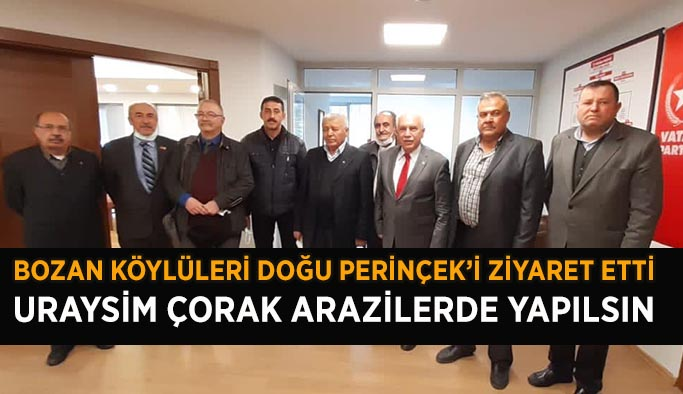 URAYSİM'İ PERİNÇEK'E ŞİKAYET ETTİLER