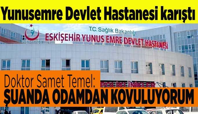 Yunusemre Devlet Hastanesi karıştı