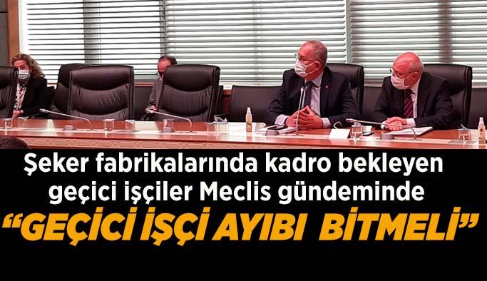 CHP'li Çakırözer'den TÜRKŞEKER'e çağrı: