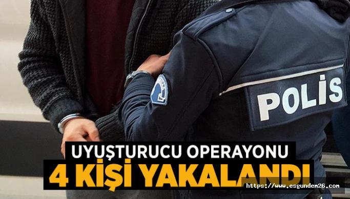 ESKİŞEHİR'DE UYUŞTURUCU OPERAYONU