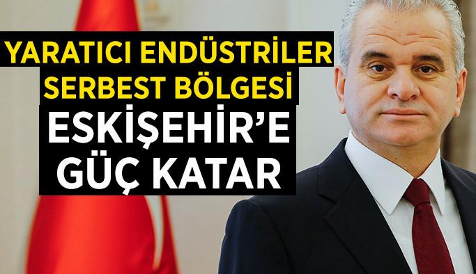 ETO Başkanı Güler: Yaratıcı Endüstriler  Serbest Bölgesi  Eskişehir'e güç katar