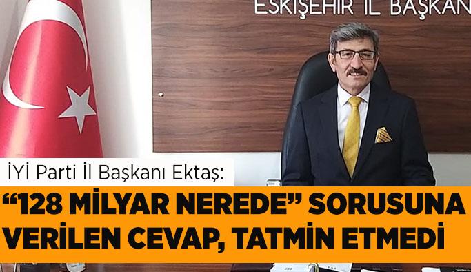Mehmet Ektaş: Doğrudan pandemi desteğinde sınıfta kaldık