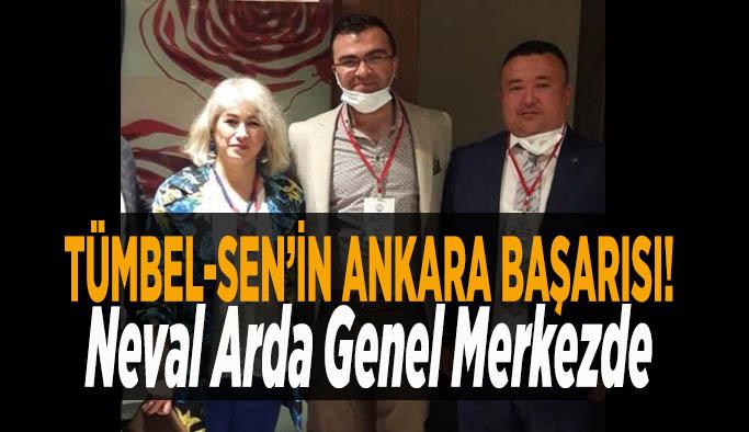 TÜMBEL-SEN'in Ankara başarısı