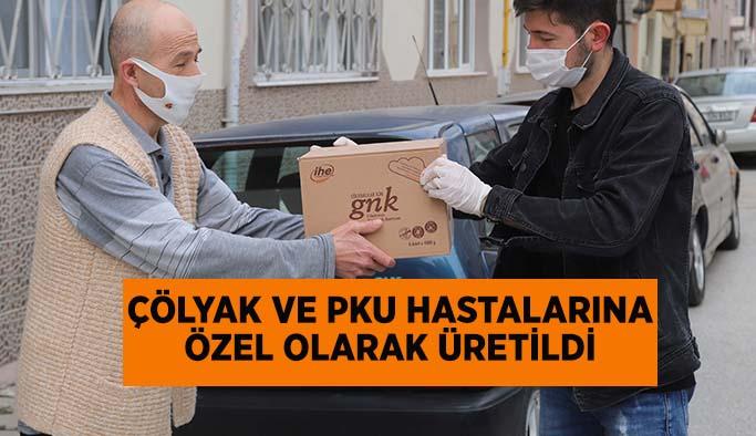 Büyükşehir'den  çölyaklılar ve pku'lulara destek