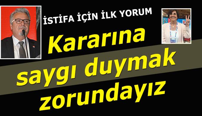 Gaye Usluer'in istifası ardından İl Başkanı Taşel'den açıklama