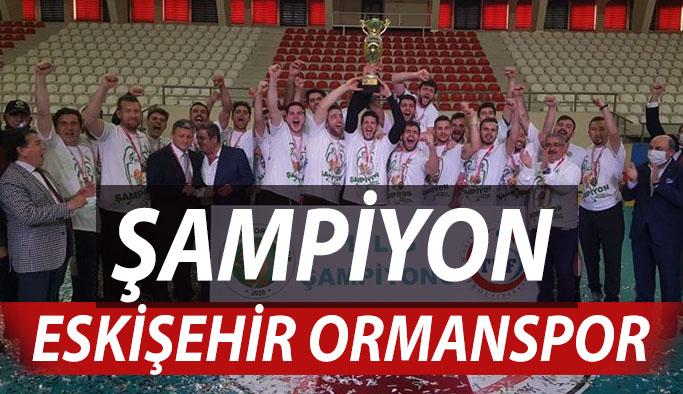 Şampiyon Eskişehir Ormanspor